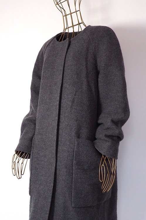 COS Clean Lined Wool Coat