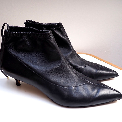 MASSIMO DUTTI Leather Ankleboots