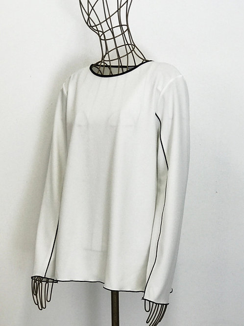 Zara Contrast Blouse