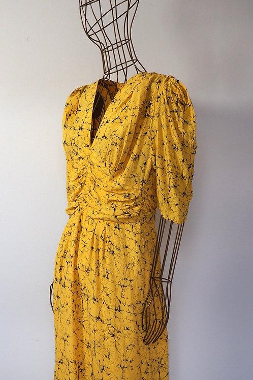 C&A Vintage Yellow  Dress