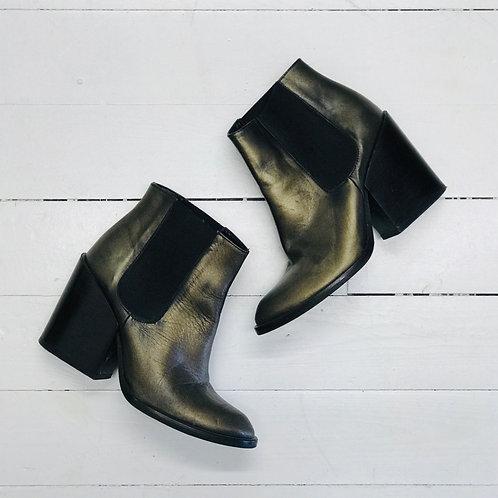 Zara Bronze Ankleboots