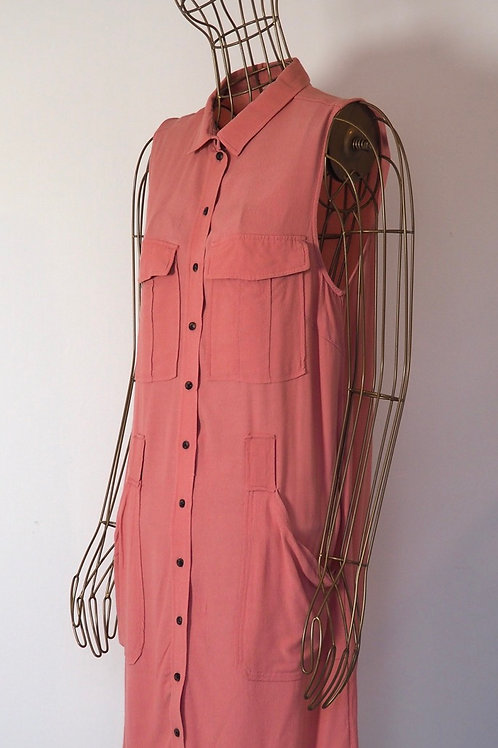 H&M Light Pink Shirtdress