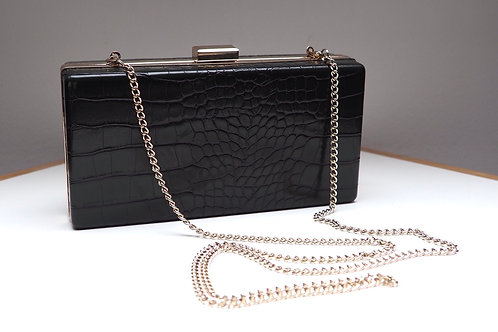 H&M Deepgreen Faux Leather Clutch