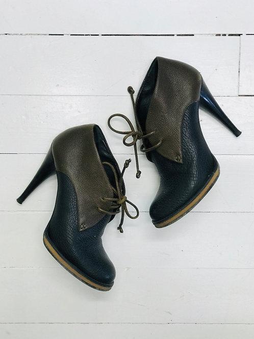 Balenciaga Lace-up Boots