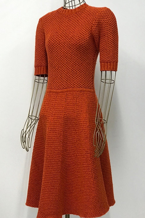Twenty8twelve Orange Knitted Dress