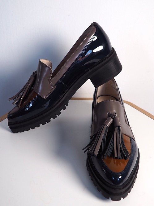 CLARKS Patent Leather Loafer