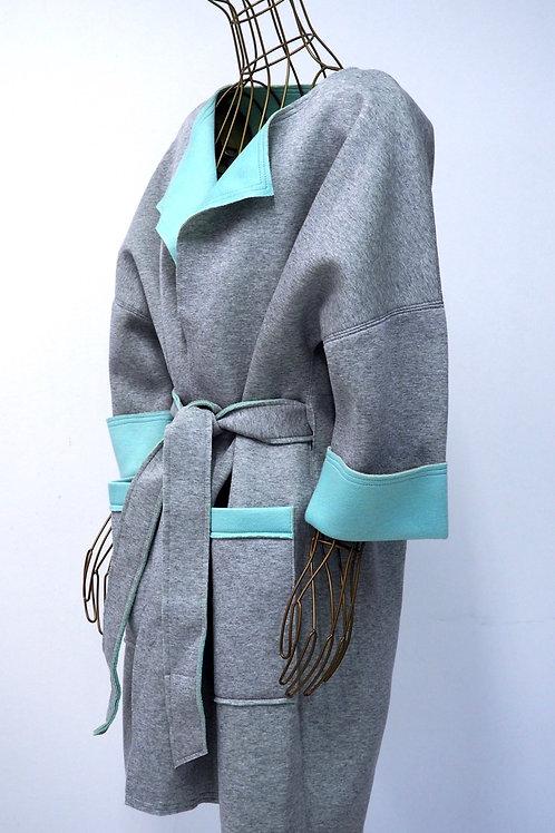 CAKO Contrast Stiff Cardigan