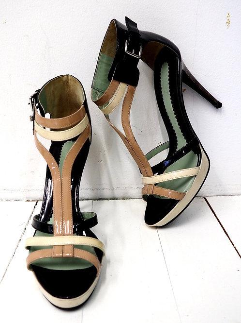 SPORTMAX Contrast High Heels