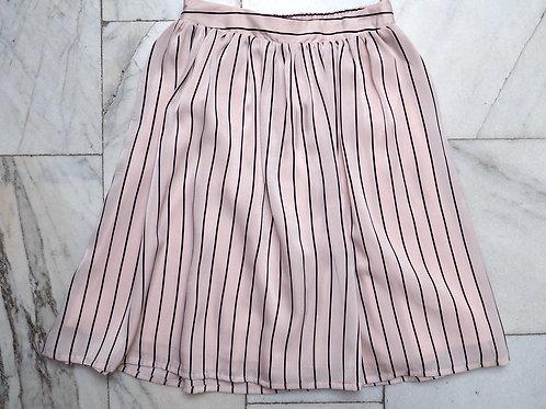 VILA Striped Skirt