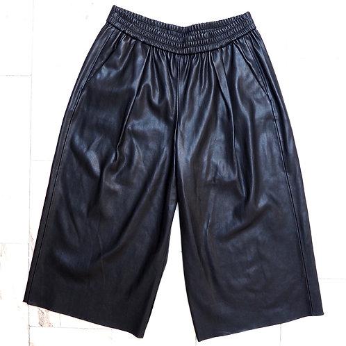 ZARA Faux Leather Culotte