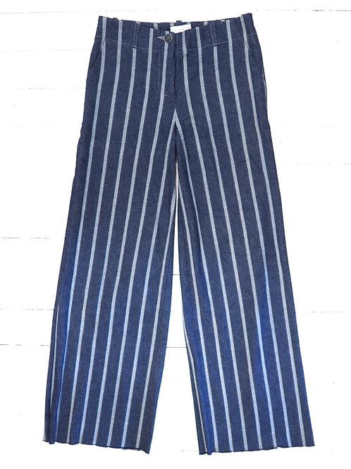 USE UNUSED Striped Denim Pants