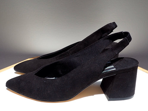 STRADIVARIUS Suede Sandals