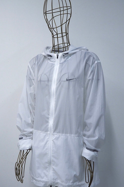 NIKE Running White/Transparent Jacket
