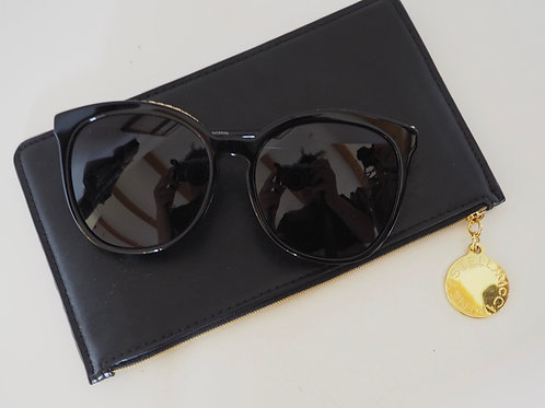 STELLA MCCATRNEY Oversized Sunglasses with Chain