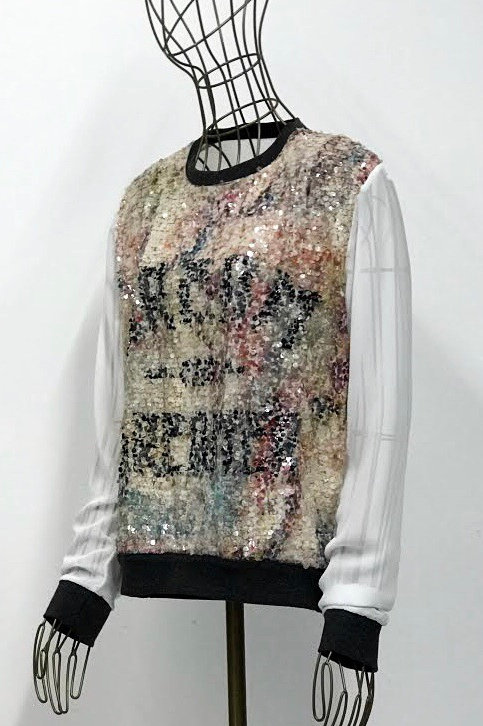 Happiness Sequin Top