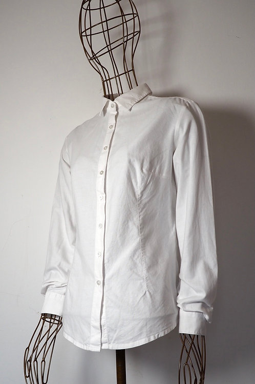 TATUUM Cotton White Shirt