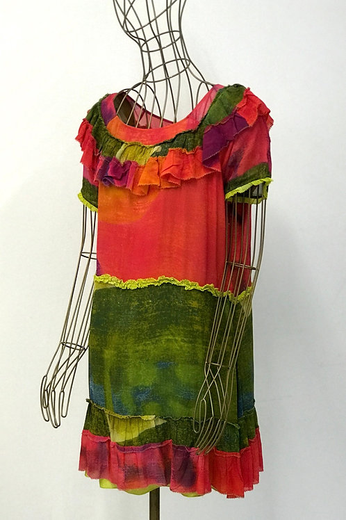 TWENTY8TWELVE Frill Aquarel Dress