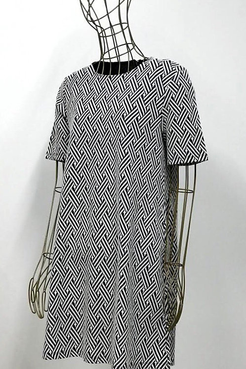 H&M Geometric Printed Dress