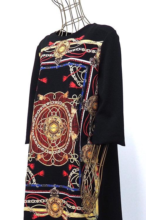 ZARA Golden Chain Dress