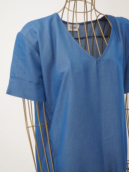 CAKO Denimblue Shirtdress