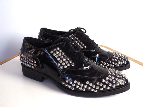 TRUTH OR DARE by Madonna Studded Patent Shoes