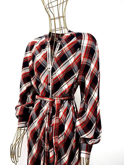 H&M Checked Shirtdress