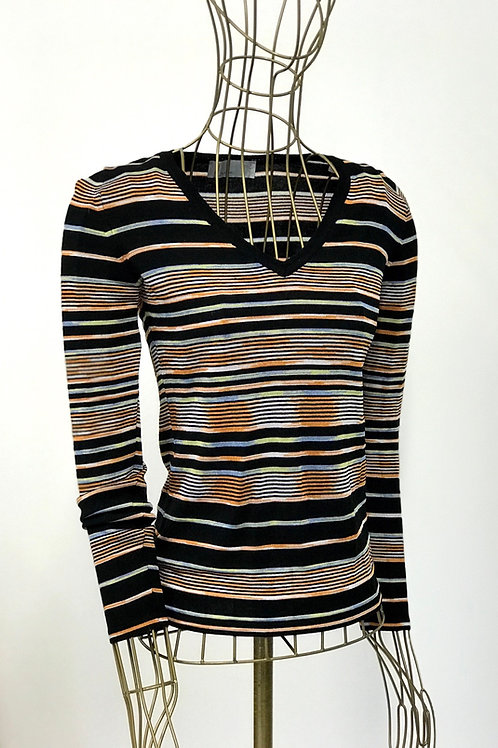 Iconic Missoni V-Neck Top