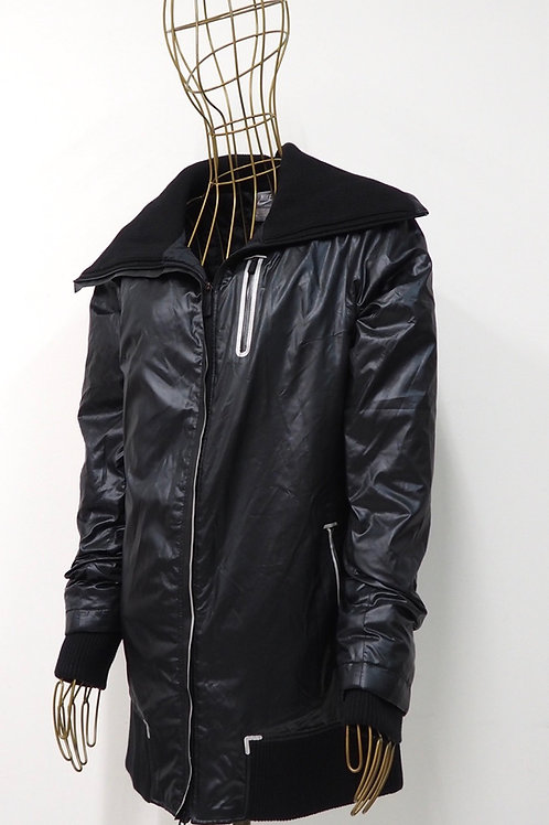 NIKE Sportswear Shiny Black Jacket