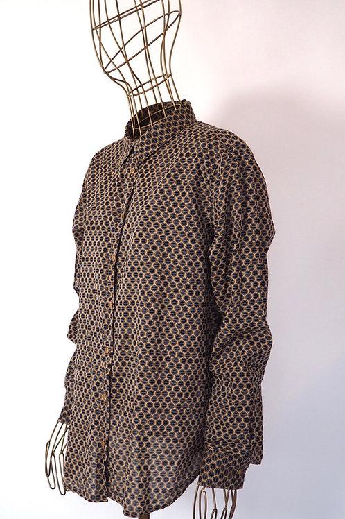 BENETTON Pattern Shirt