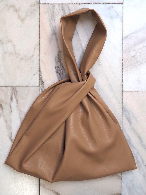 NANUSHKA Vegan Leather Beige Handbag
