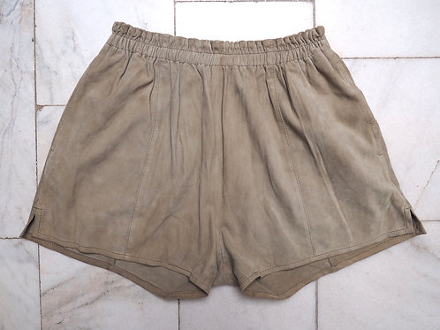 VINTAGE Suede Leather Shorts