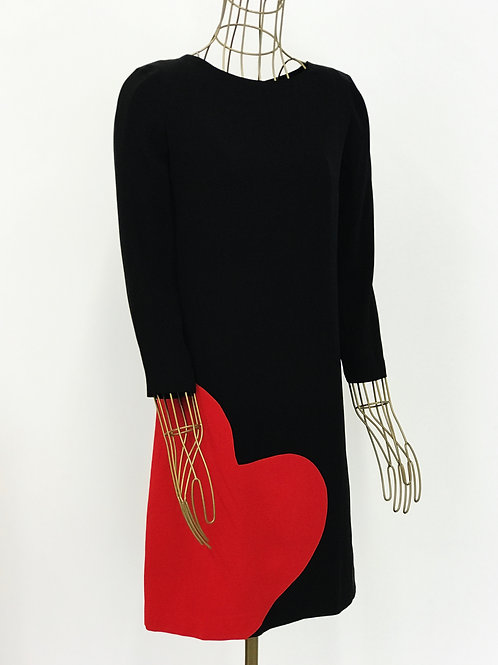 Heart Dress Moschino