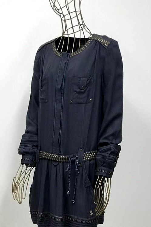 Pepe Jeans Grey Studded Tunic