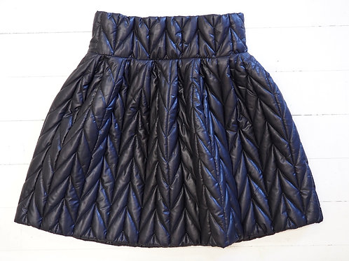 BAT Quilted Black Skirt