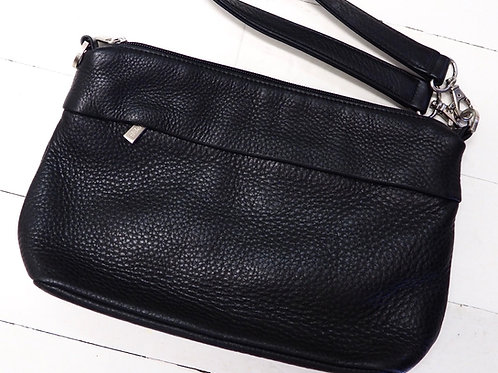 BREE Leather Clutch Bag
