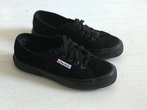 Superga Canvas Leather Sneakers