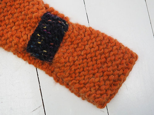 HANDKNITTED Wool Mix Head Band