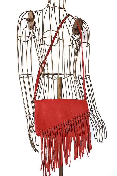 CAMAIEU Fringe Crossbody Bag