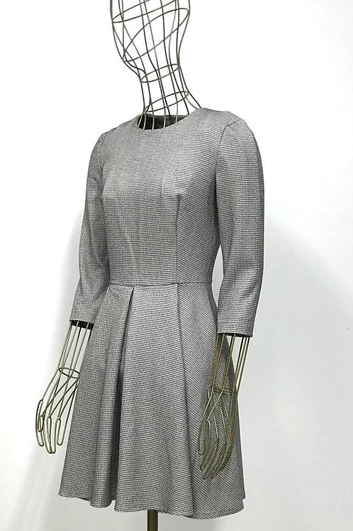 Be Loved Houndstooth Dress