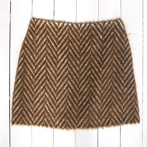 MARELLA Furry Mini Skirt