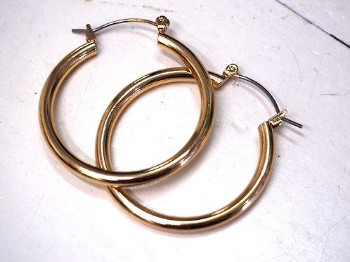 MONKI Round Earrings