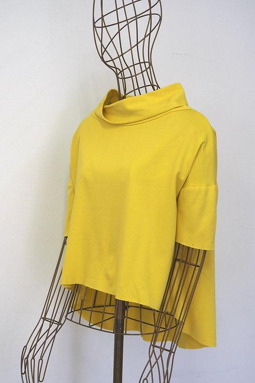 IMPERIAL Asymmetric Yellow Top