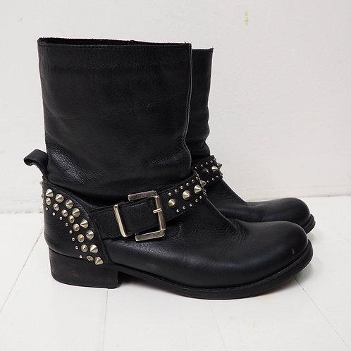 CARVELA Studded Leather Boots