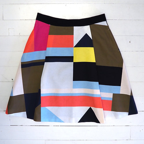 InTrend Geometric A-line Skirt