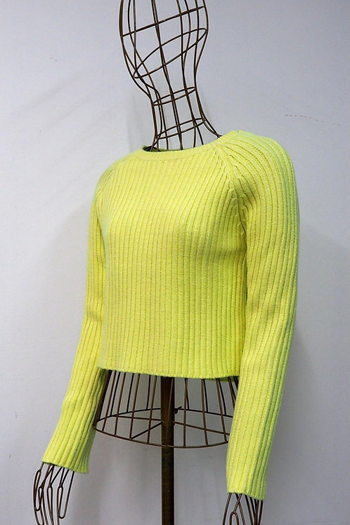 NEW LOOK Yellow Knit Sweater