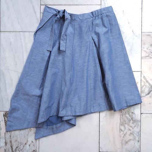 PAMUT Skyblue Cotton Skirt