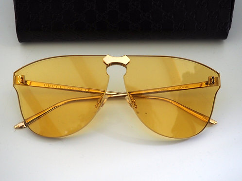 GUCCI Yellow Lense Sunglasses