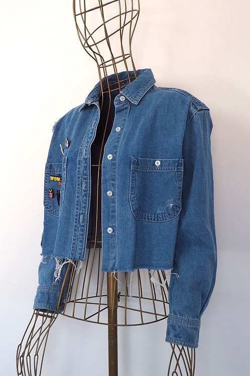 TALLY WEIJL Short Denim Jacket