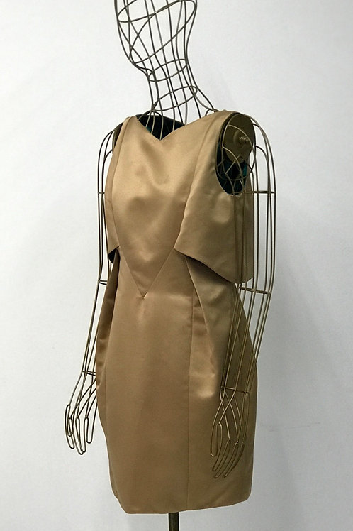 HERA BAROC Satin Structured Dress