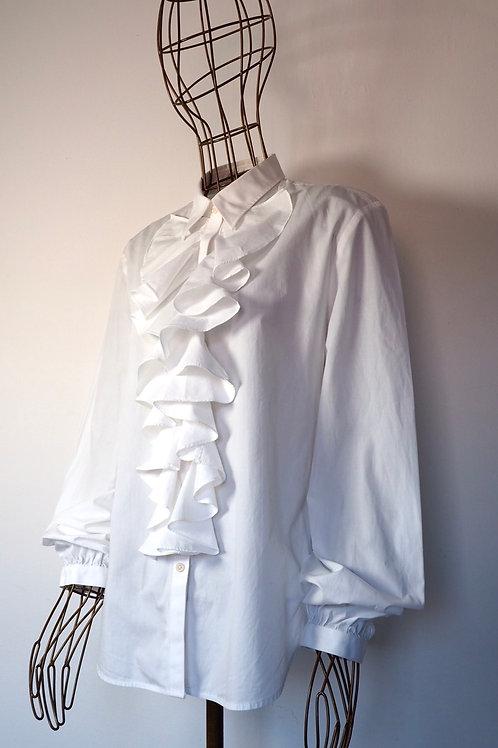 LAUREN RALPH LAUREN Frill Shirt